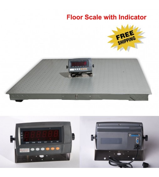 DIGIWEIGH DWP-20K 5' X 5' FLOOR SCALE 20000LB/5LB
