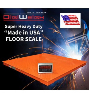 DIGIWEIGH 10000Lb/2LB 4'X4' NTEP MADE IN USA FLOOR SCALE