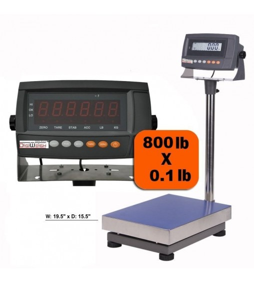 DIGIWEIGH DWP-800 BENCH SCALE