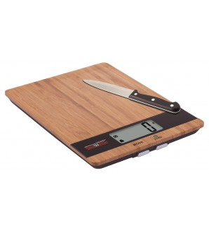 DIGIWEIGH DW-85 BAMBOO KITCHEN SCALE