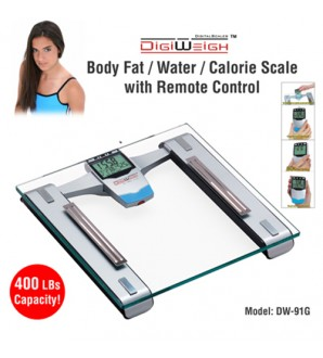 DIGIWEIGH DW-91 BODY FAT SCALE