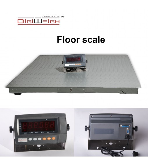 DIGIWEIGH DWP-20K 5' X 7' FLOOR SCALE 20000LB/5LB