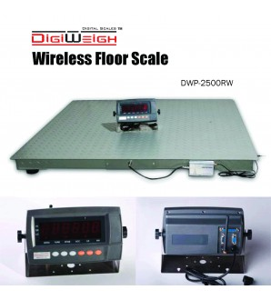 DIGIWEIGH DWP-11KW 4' X 8' WIRELESS FLOOR SCALE 10000LB/1LB