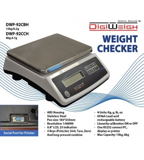 DIGIWEIGH DWP-92 WEIGHT CHECKER