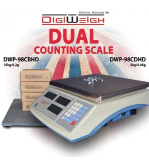 DIGIWEIGH DUAL COUNTING WITH 10000Lb/1Lb FLOOR SCALE