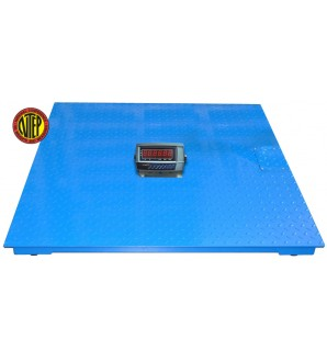 NTEP LEGAL FOR TRADE 4' x 4' FLOOR SCALE 5000LB/1LB