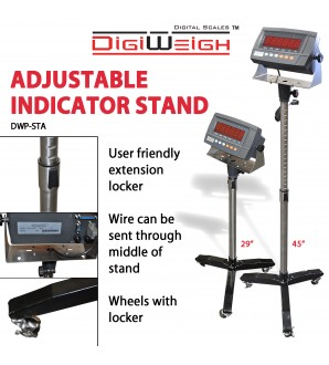 DIGIWEIGH ADJUSTABLE STAND ONLY