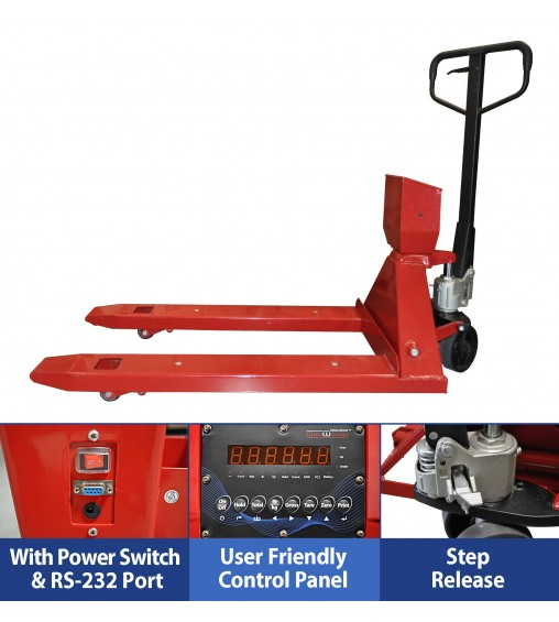 DIGIWEIGH PALLET JACK SCALE
