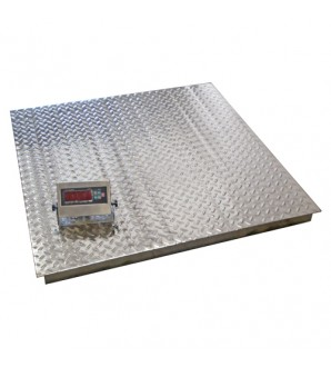 DIGIWEIGH DWP-5000SW 4'X4' REGULAR STAINLESS STEEL FLOOR SCALE