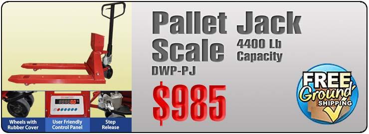 Pallet Truck Pallet Jack Scale