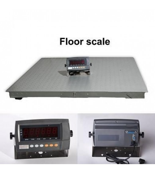 DIGIWEIGH 5500Lb 4' X 4' FLOOR SCALE
