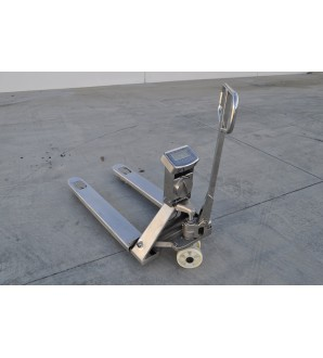 DIGIWEIGH IP68 STAINLESS STEEL PALLET JACK SCALE